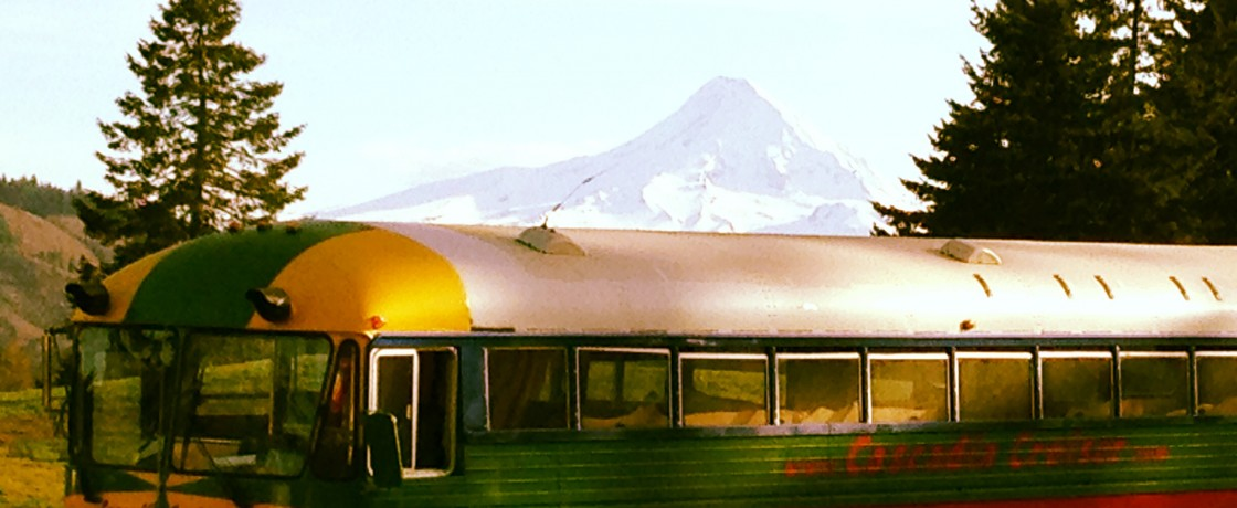The Cascadia Cruiser is a Portland Oregon based wine tour, adventure tour, wedding, party and event bus.