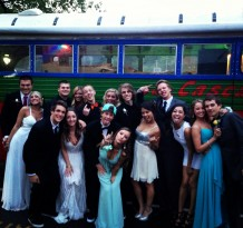 West Linn rages the Cascadia Cruiser Party Bus