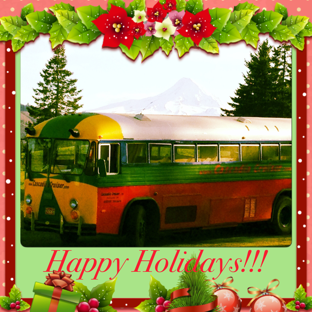 Cascadia Cruiser wishes you, your family and friends a happy holiday season. Please remember to celebrate responsibly and safely.